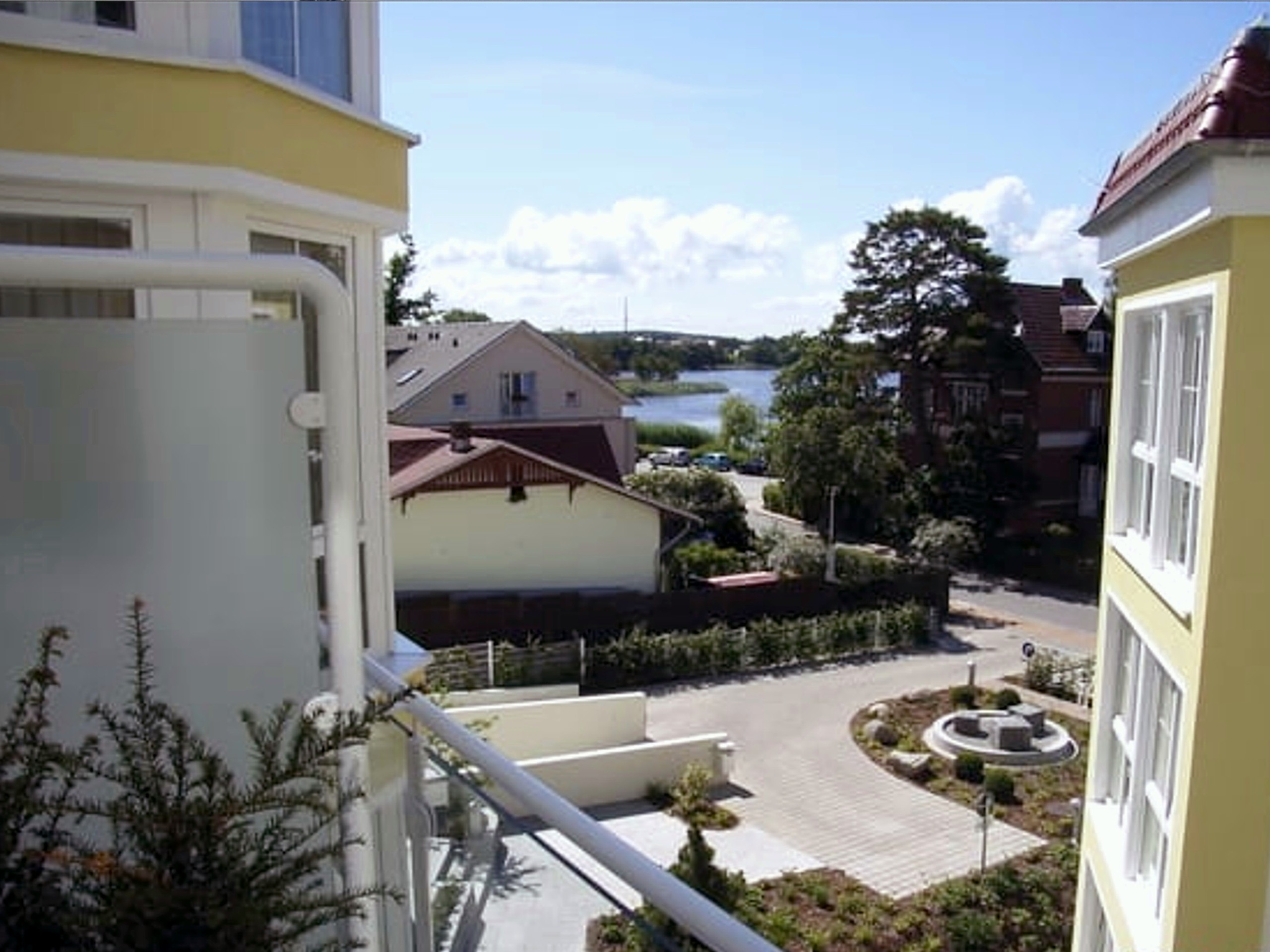 Terrassenblick auf die Schloonsee
