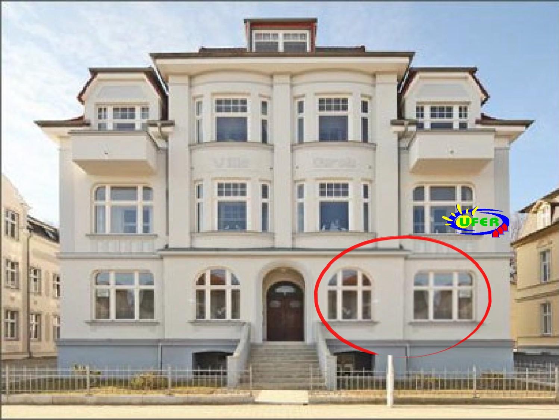 Die Villa Carola von aussen (FeWo Nr. 4)