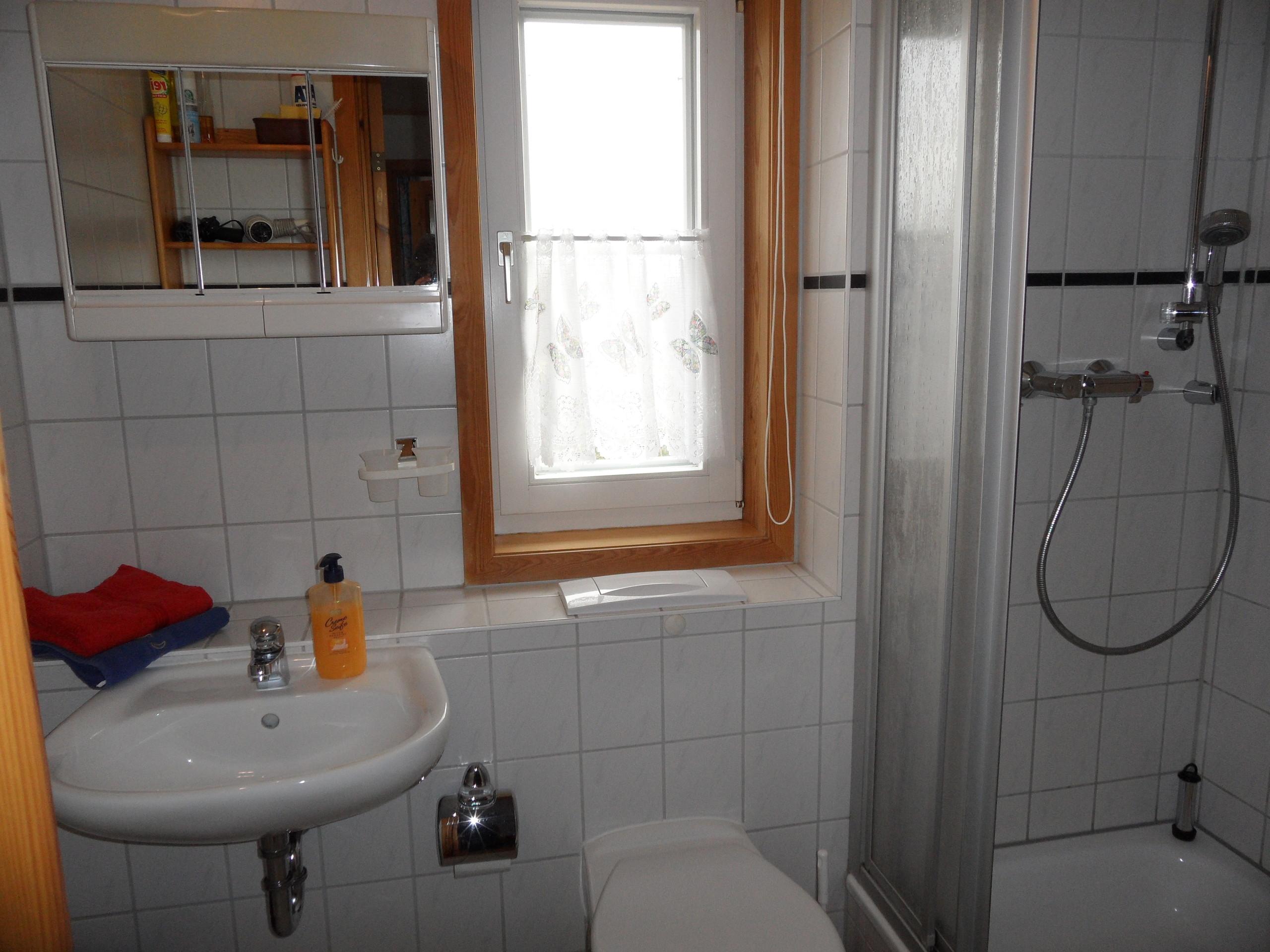 Duschbad/WC oben