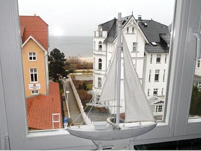 Sie haben einen schönen Blick auf die Ostsee