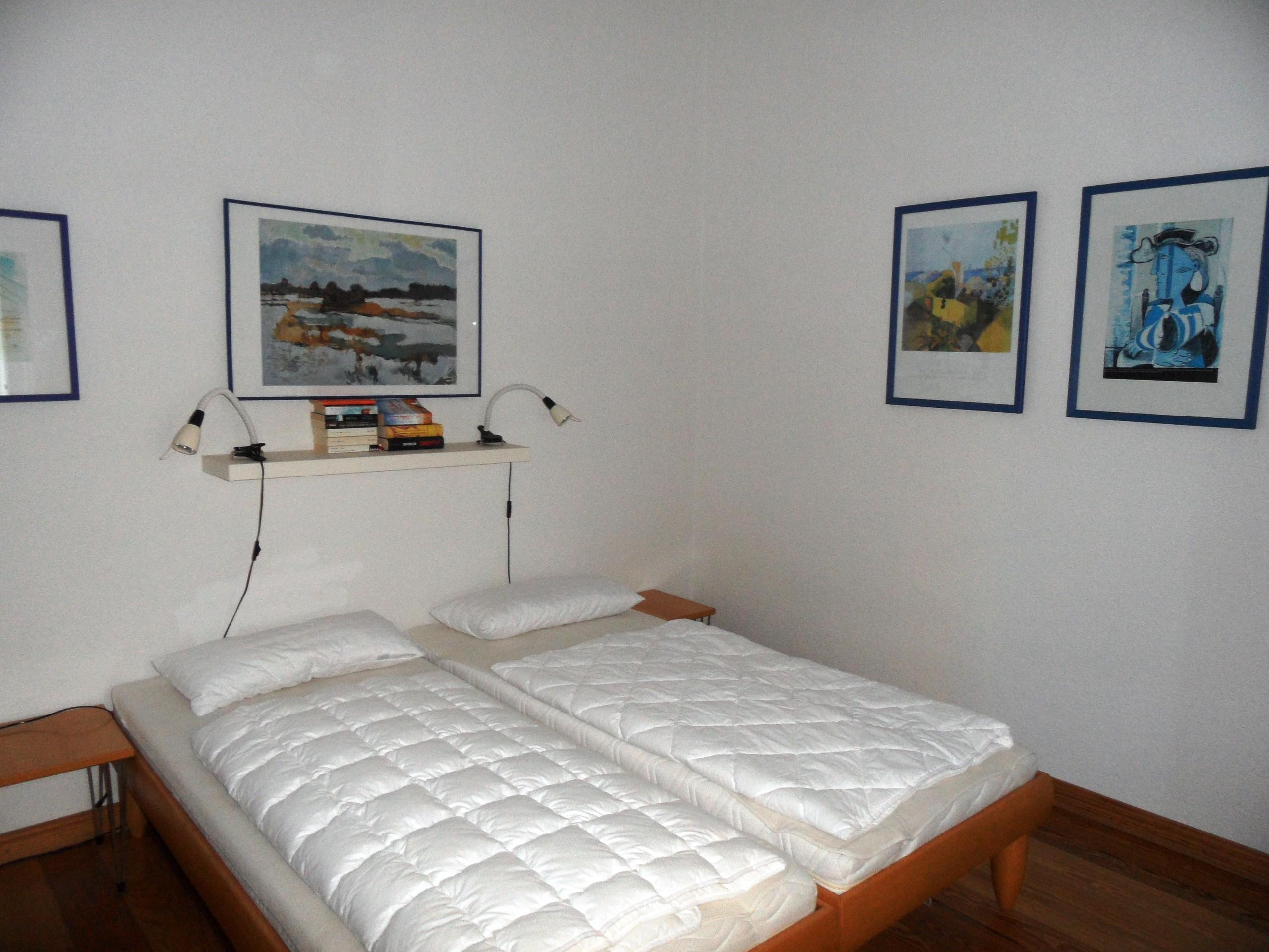 Geräumiges 1. Schlafzimmer