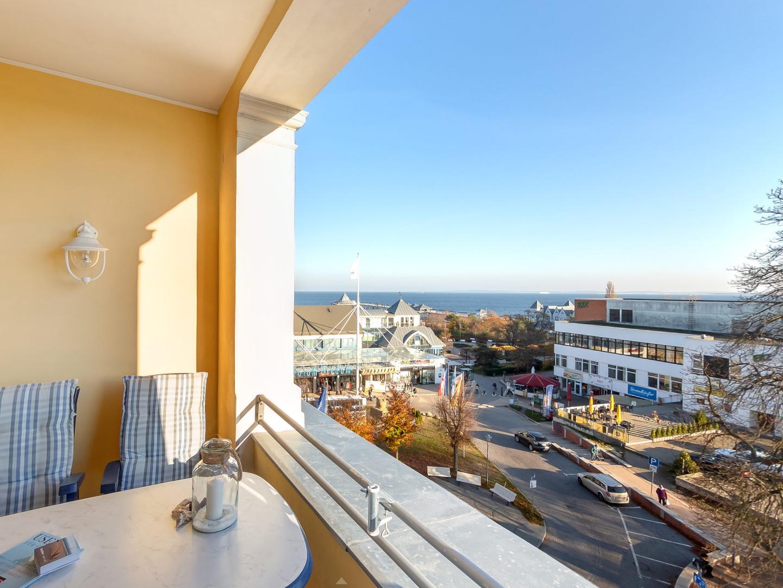 Balkon mit Seeblick