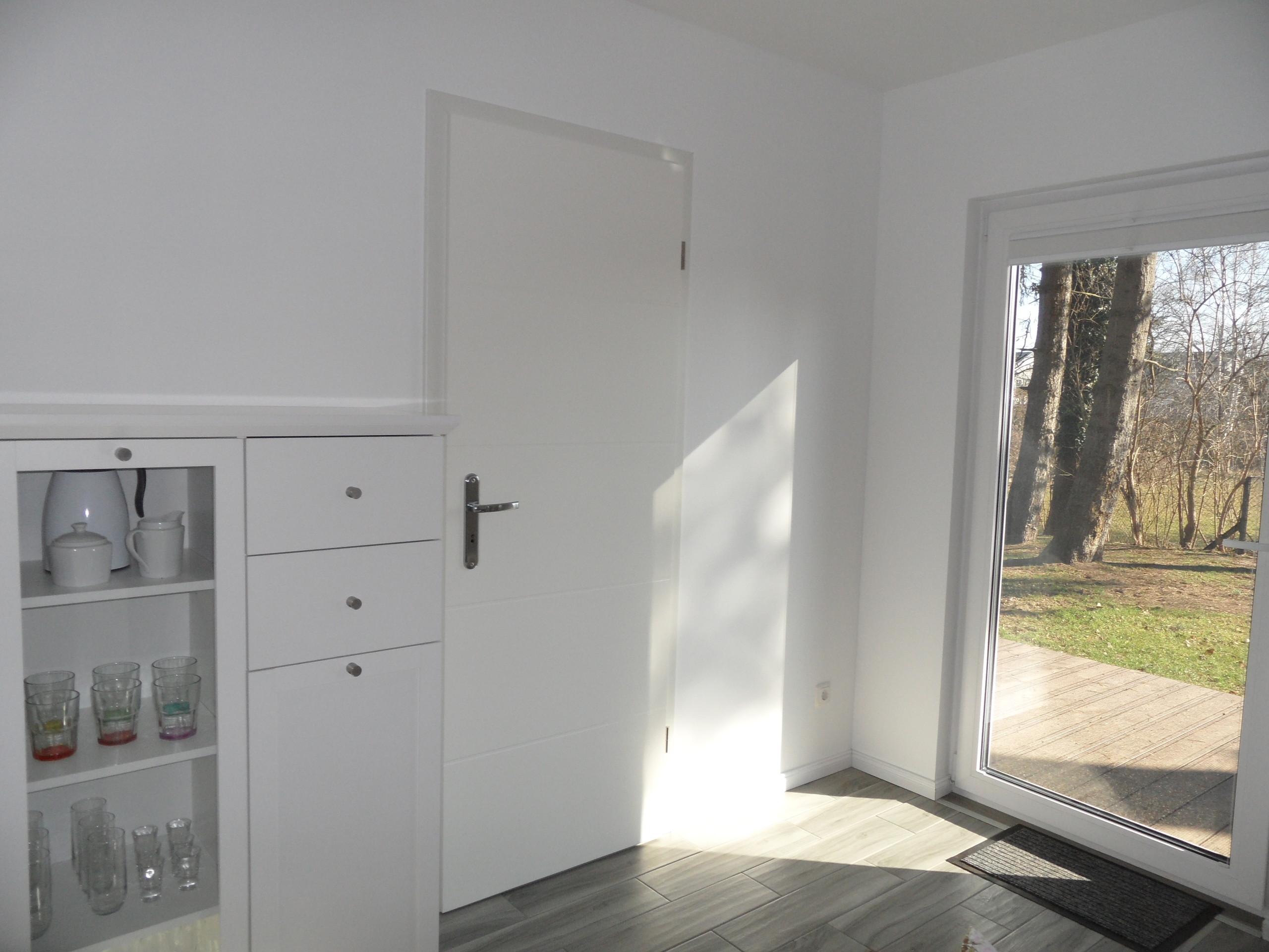 Eingang - Schlafzimmer - Terrasse