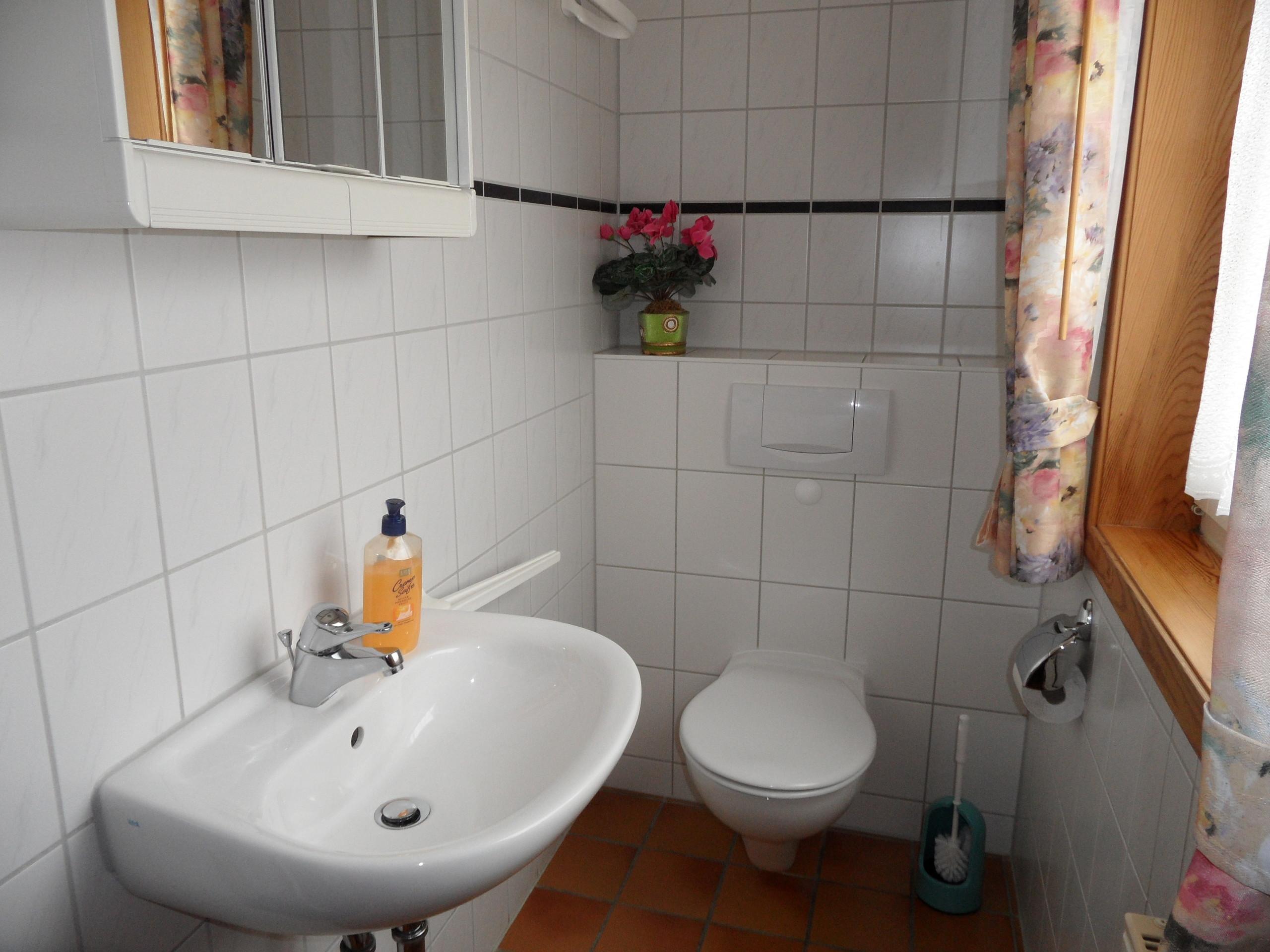 ein weiteres WC im EG
